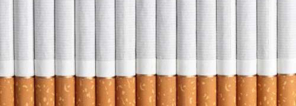 Cigarette Output  Rises 8%