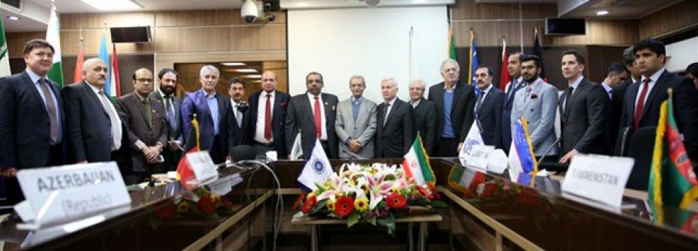 ECO-CCI Meetings Conclude in Tehran