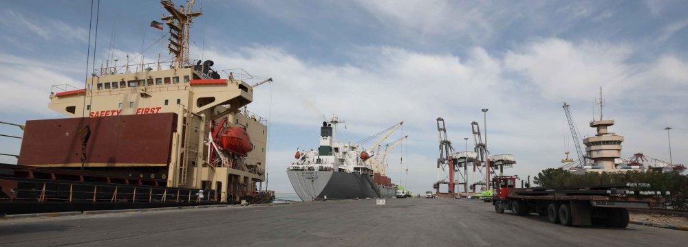 Imam Khomeini Port Handles 22m Tons of Essential Goods