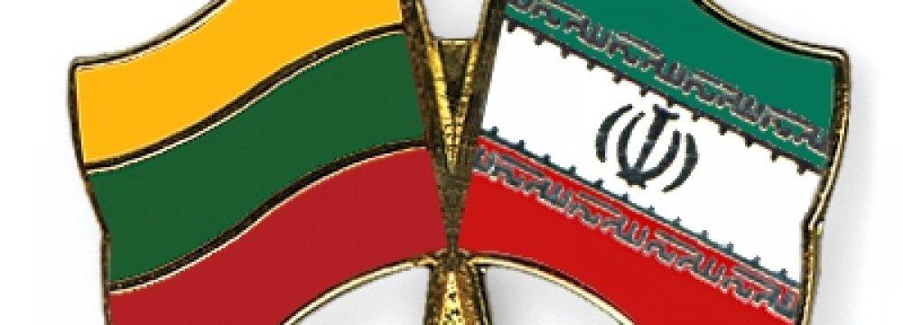 Iran-Lithuania Trade Falls 44% in 2017
