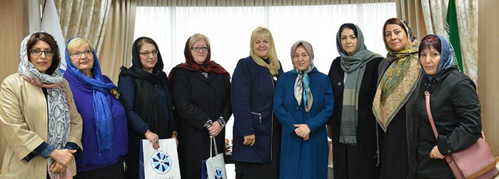 Iran, Armenia Businesswomen to Expand Coop. in Framework of EEU Trade Deal