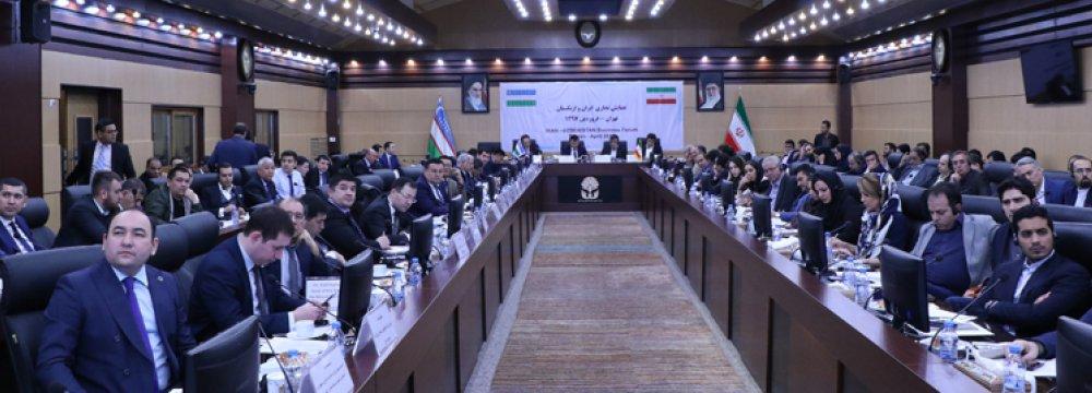 Iran, Uzbekistan in Tariff Talks