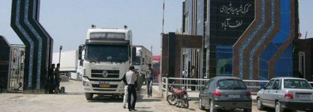 Turkmenistan Bans Iran Transit Trucks Heading to Tajikistan