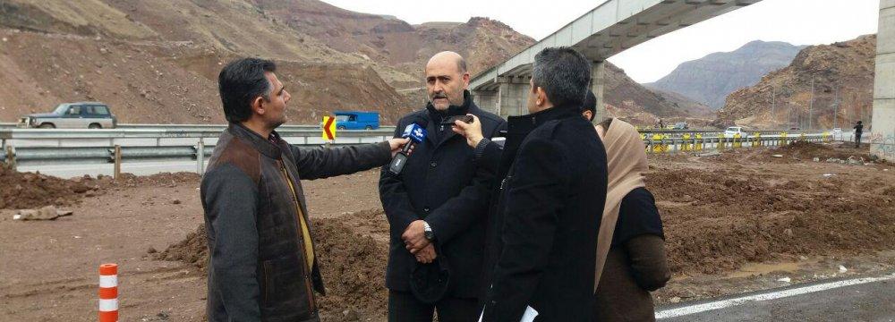 Qazvin-Rasht Railroad to Come on Stream in 3 Months
