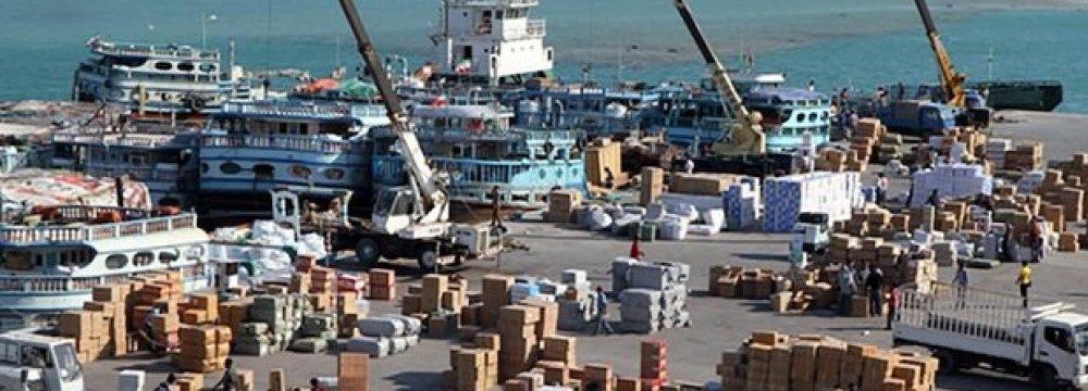 Qeshm Ports Throughput  Up 3.2%