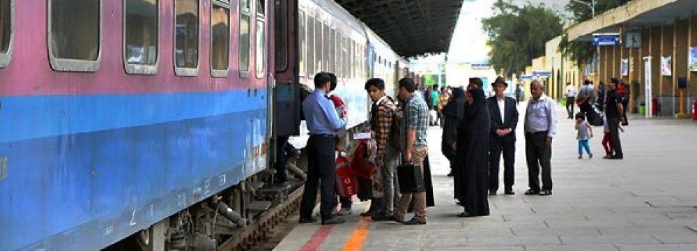 Passenger Rail Transport Up 10%