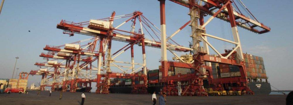 Container Throughput at Shahid Rajaee Port Grows 19%