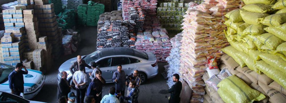 Massive Hoard of Shoe Raw Materials Confiscated in Tehran