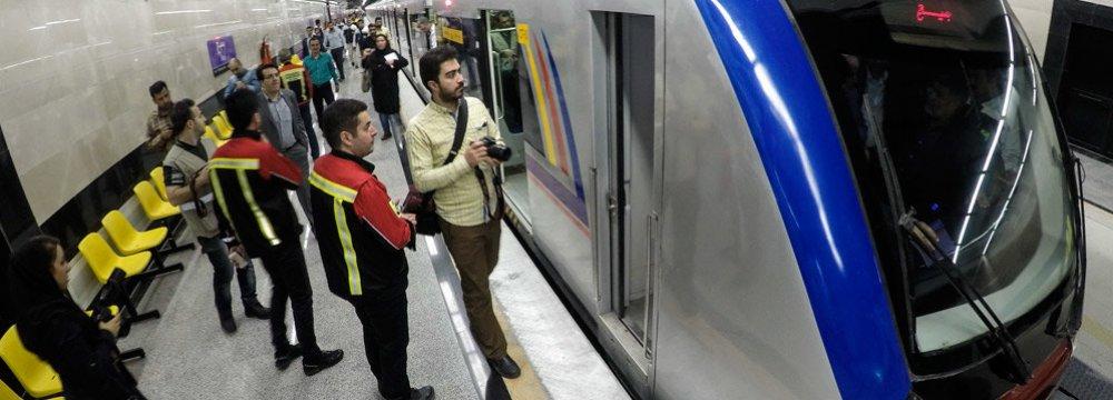 3 Million Trips Daily Via  Tehran Subway