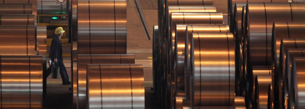 Iran's Steel Exports, Imports Fall as Production, Consumption Rise