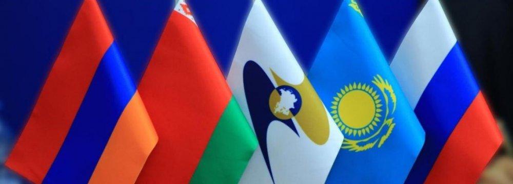 Iran's Non-Oil Trade With EEU Increases 34 Percent