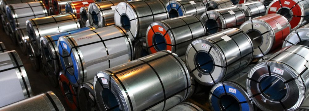 Steel Output Rises to 11m Tons