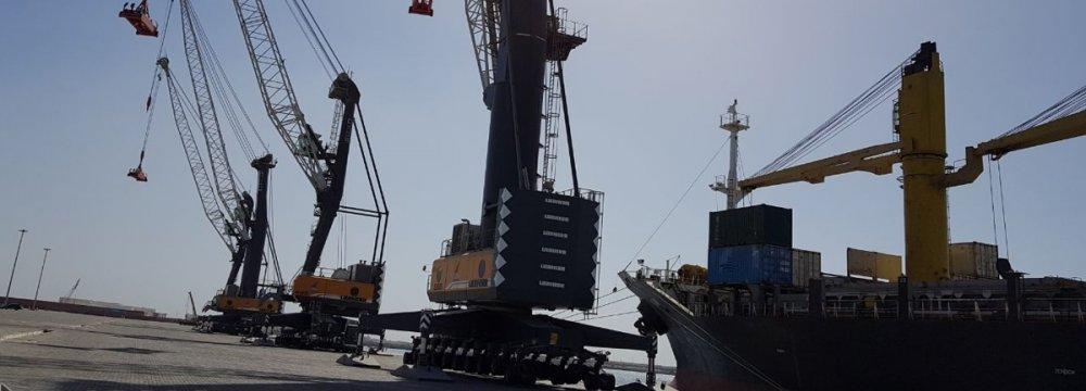 Chabahar Port Activity Gains Momentum