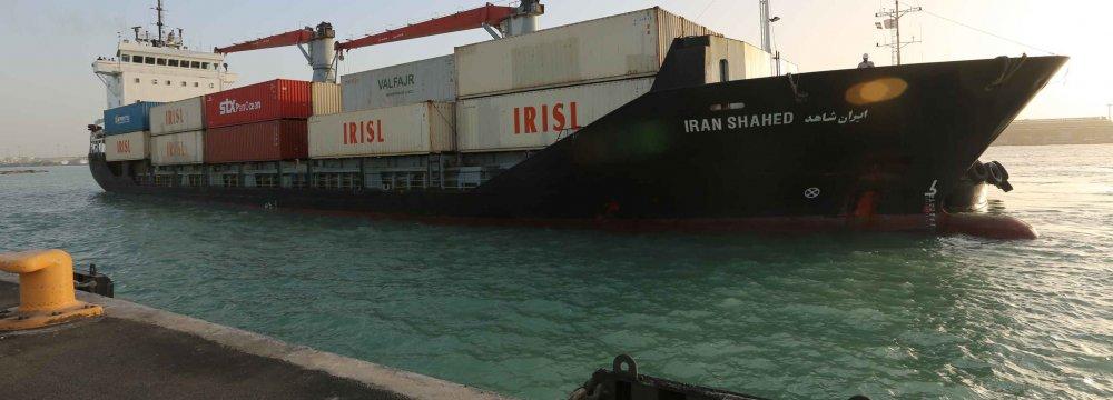50,000-Ton Negin Port Container Wharf Inaugurated