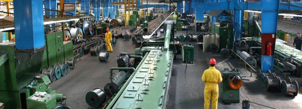 Iran's Industrial PMI Improves