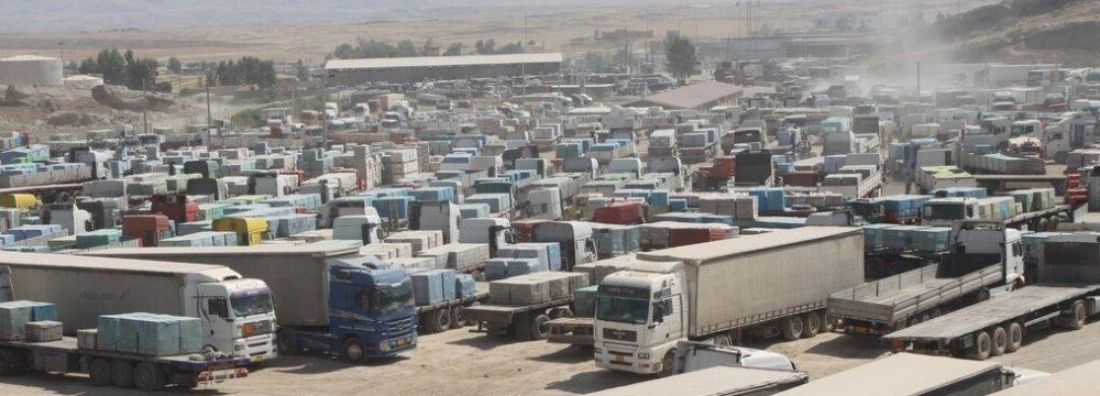 Iran's H1 Exports to Iraq Rise 28% YOY to $3.8 Billion