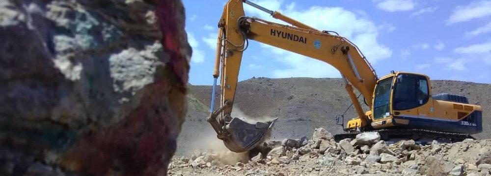 Mineral Exports Hit $2 Billion