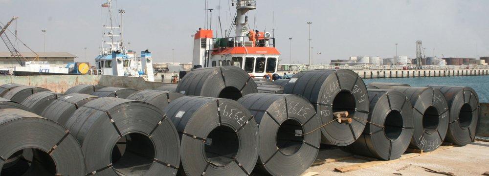 Iran Steel Exports Reach 8.2 Million Tons