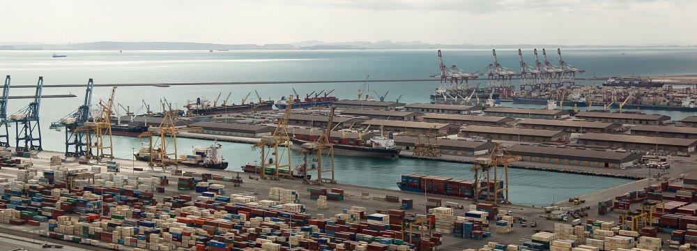 Iranian Port Operations Down 27%