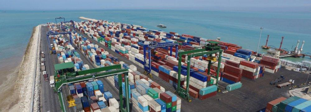 Twofold Increase in Bushehr Port Throughput