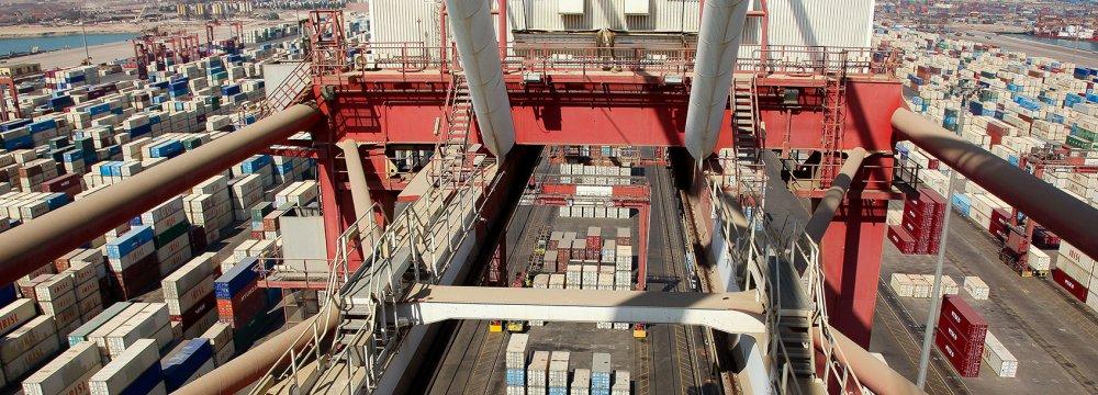 11% Growth in Shahid Rajaee Port Container Throughput