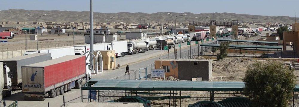 26% Rise in Sistan-Baluchestan Exports to Pakistan