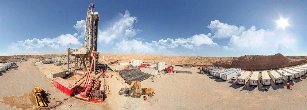 Operations Underway to  Curb Azar Oilfield Gas Flaring