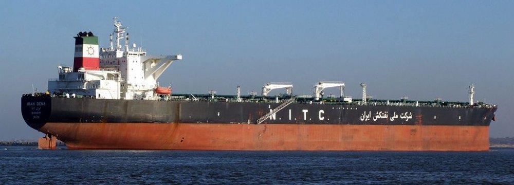 Iran Oil Exports at 2.5 mbpd
