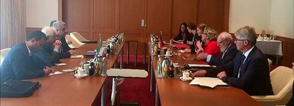 Tehran, Berlin Will Devise Roadmap for Water Coop.