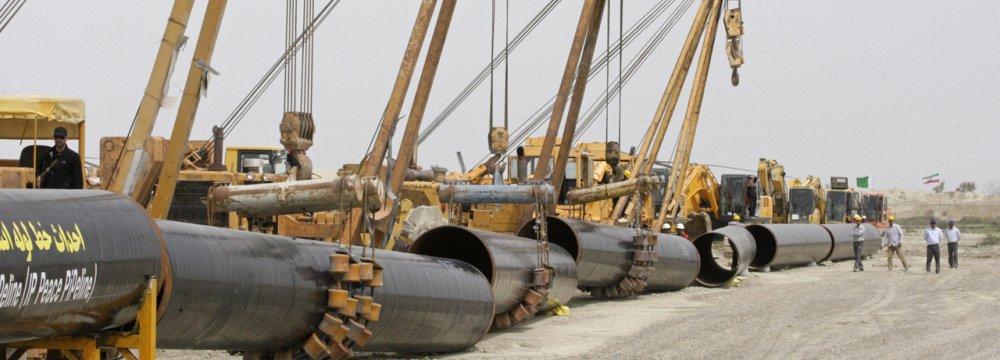 Peace Pipeline Can Help Pakistan Economy Grow