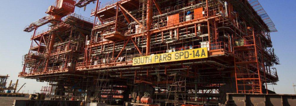 South Pars Phase 14 platform