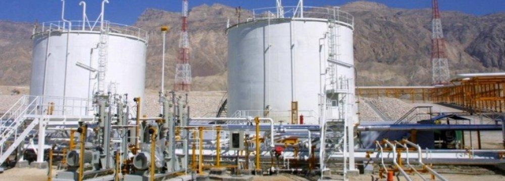 Shourijeh Gas Storage Capacity to Reach 4.5 bcm