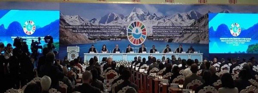 Judicious Water Consumption  Vital for Sustainable Development