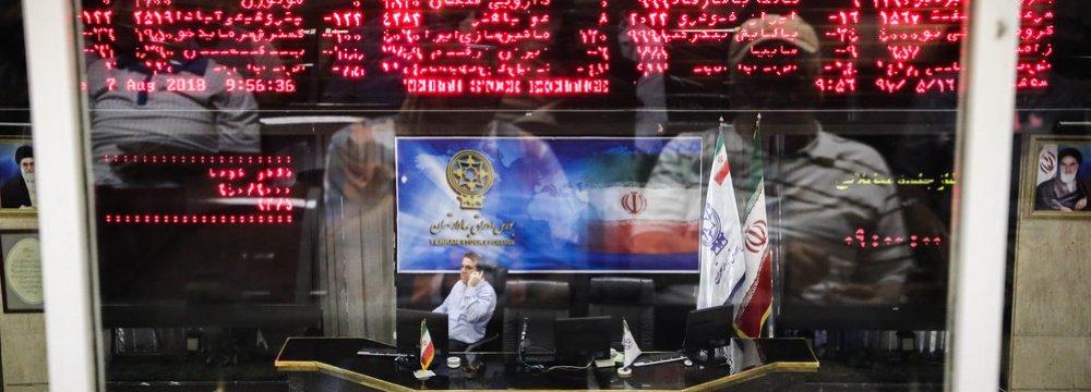 Tehran Stocks Make Stunning Comeback