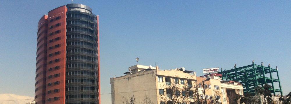Iran Insurance Co. Headquarters in Tehran