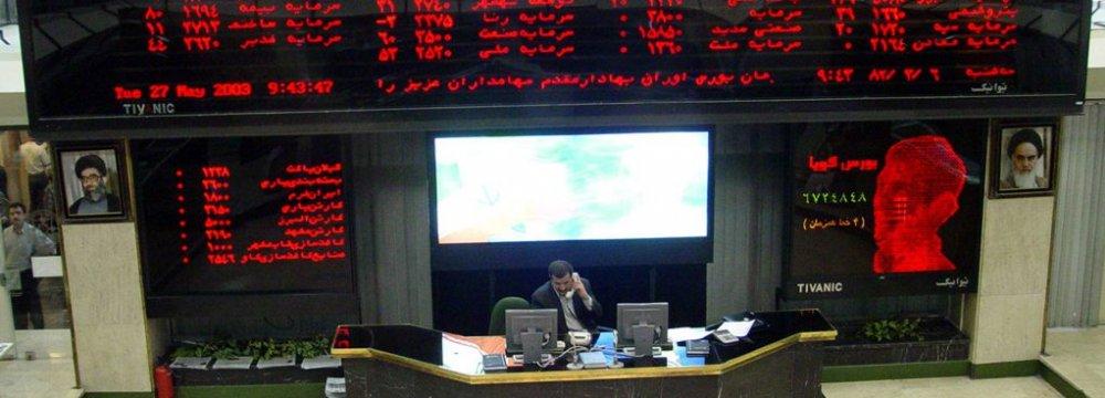 Tehran Stocks Edge 0.6% Higher
