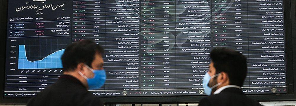 Tehran Stocks Extend Losing Streak Into 5th Day