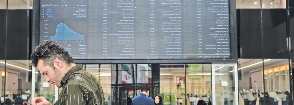 Large Caps Gain in Tehran Share Market