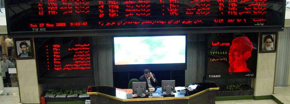 Tehran Stocks Drift Down 2.6%