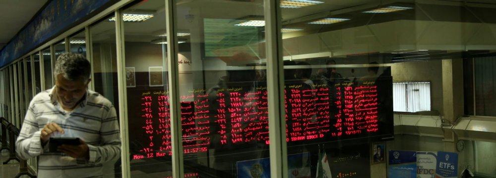 Tehran Stocks Wrap Up Week on High Note