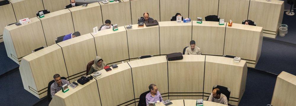 Tehran Bourse Losses Mount