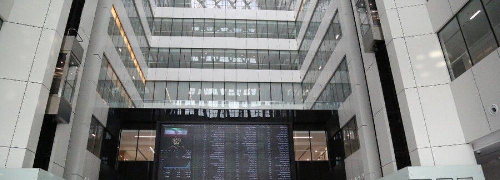 Tehran Stocks Open 3.3% Lower