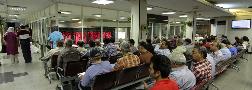 Tehran Stocks Shed 4,600 Points