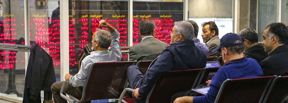 Tehran Stocks Pare Losses After Sharp Plunge