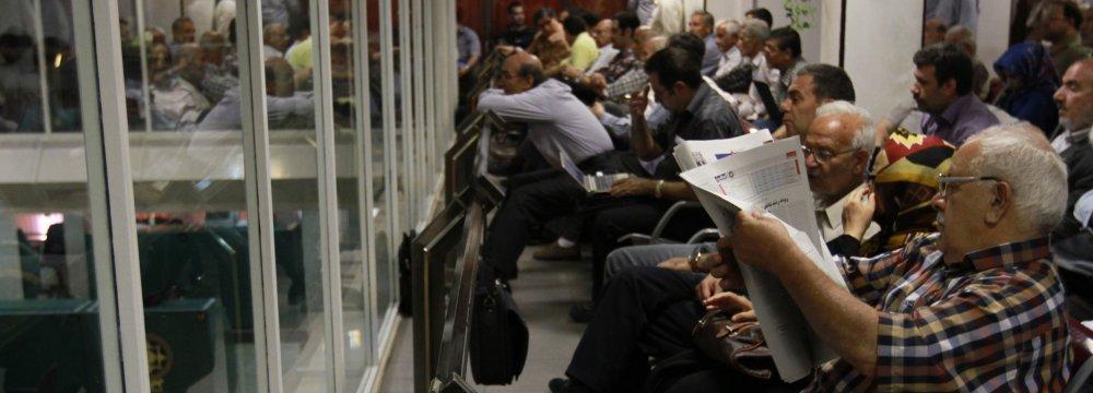 Sharp Decline Puts Tehran Stocks in Correction Territory