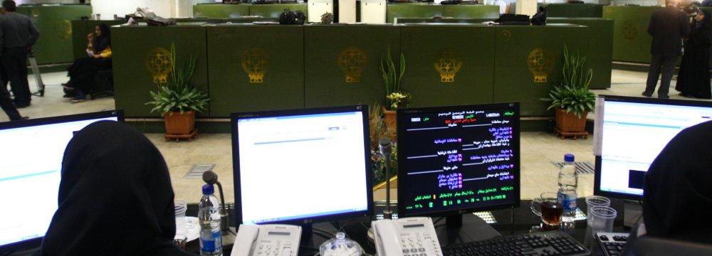 Tehran Stocks Near Record Highs