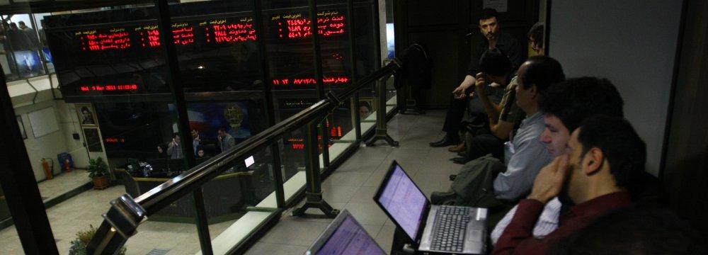 Tehran Stock Market Scales New Highs