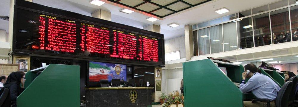 Tehran Stocks Posts Weekly Gain Despite Bear Market Entry