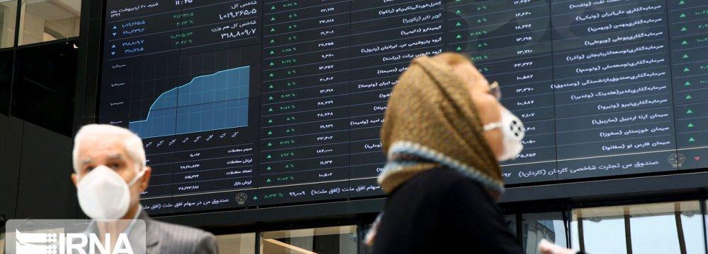 Tehran Stocks Buoyed by Small Caps