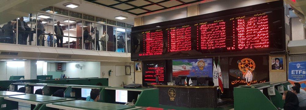 Tehran Stock Exchange Rallies Close to 2,000 Points